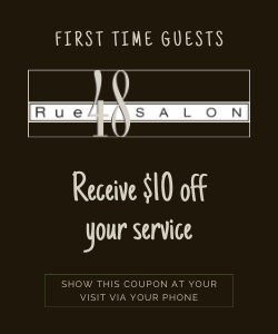 $10 off service for first time clients